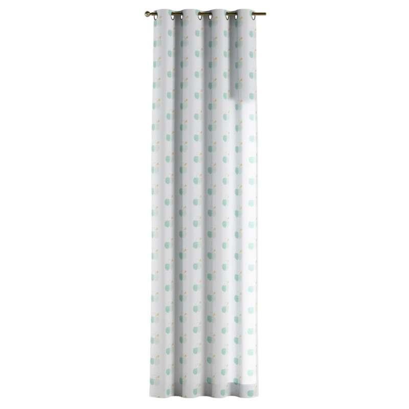 Zasłona na kółkach 1 szt. w kolekcji Apanona do -50%, tkanina: 151-02