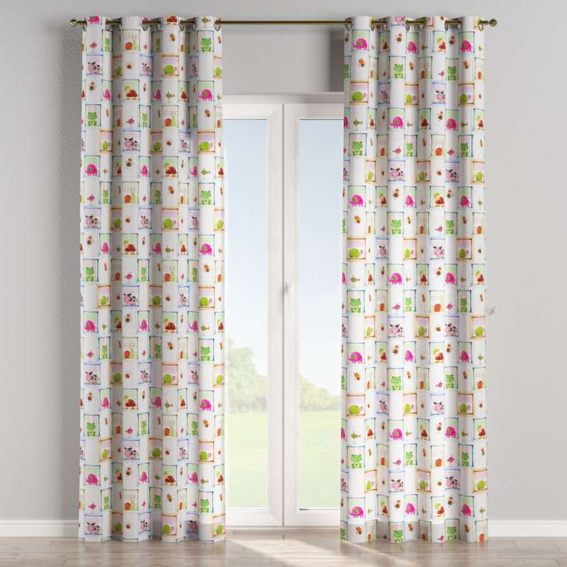 Eyelet curtain in collection Little World, fabric: 151-04