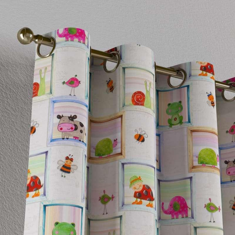 Záves s kolieskami V kolekcii Little World, tkanina: 151-04