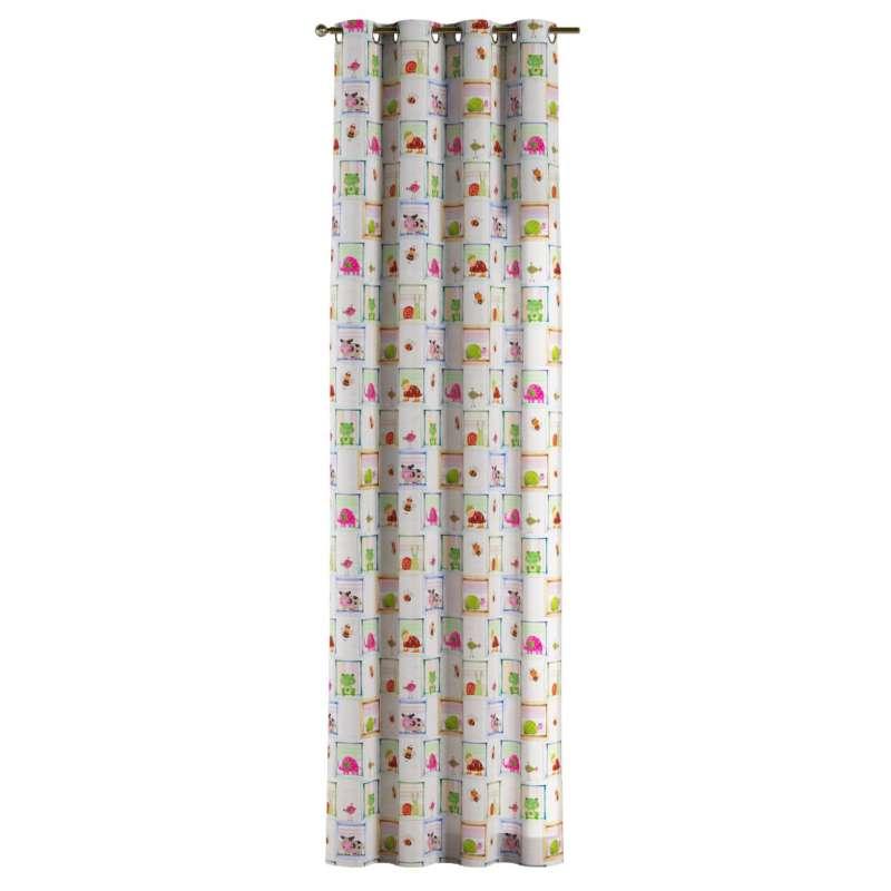 Zasłona na kółkach 1 szt. w kolekcji Apanona do -50%, tkanina: 151-04