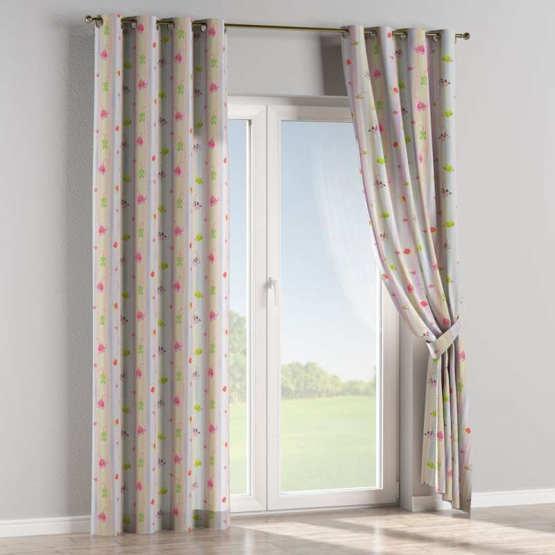 Eyelet curtain in collection Little World, fabric: 151-05