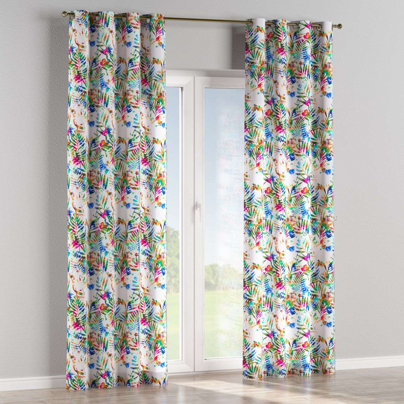 Eyelet curtains in collection New Art, fabric: 140-22