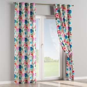 Eyelet curtains 130 x 260 cm (51 x 102 inch) in collection New Art, fabric: 140-24