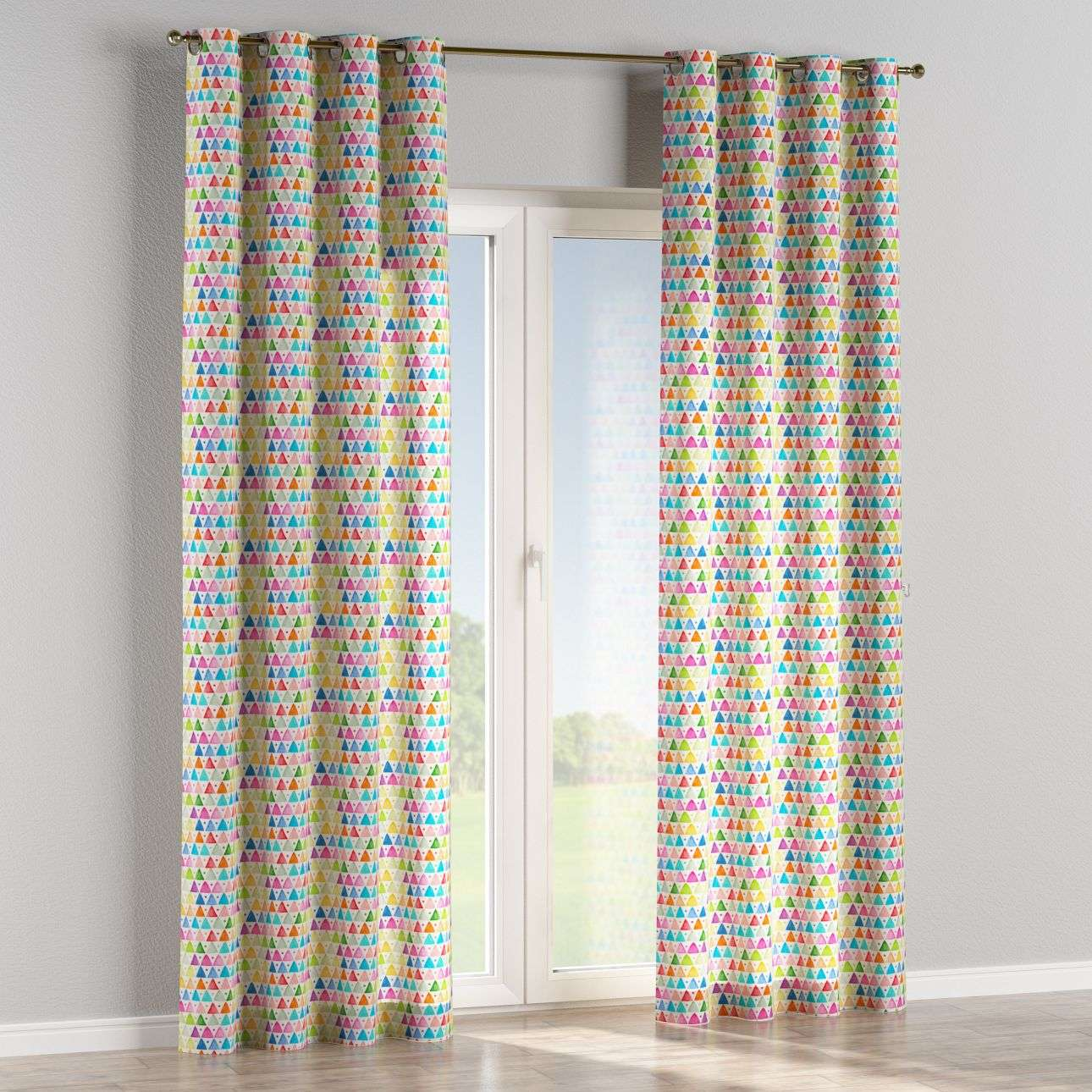 Eyelet curtains 130 × 260 cm (51 × 102 inch) in collection New Art, fabric: 140-27