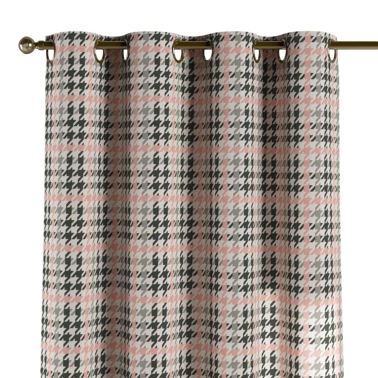 Gardin med maljer 1 stk. 130 x 260 cm fra kolleksjonen Brooklyn , Stoffets bredde: 137-75