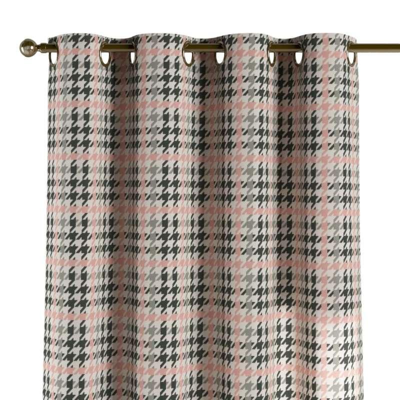 Gardin med öljetter 1 längd i kollektionen Brooklyn, Tyg: 137-75
