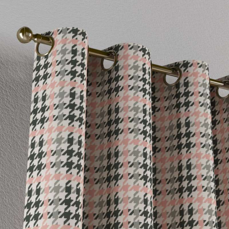 Zasłona na kółkach 1 szt. w kolekcji Brooklyn, tkanina: 137-75
