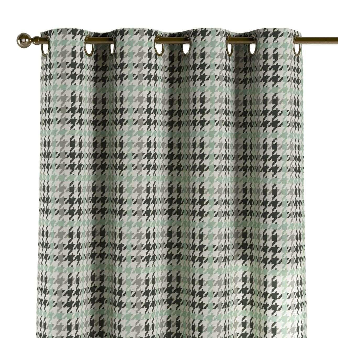 Gardin med øskner 130 x 260 cm fra kollektionen Brooklyn , Stof: 137-77