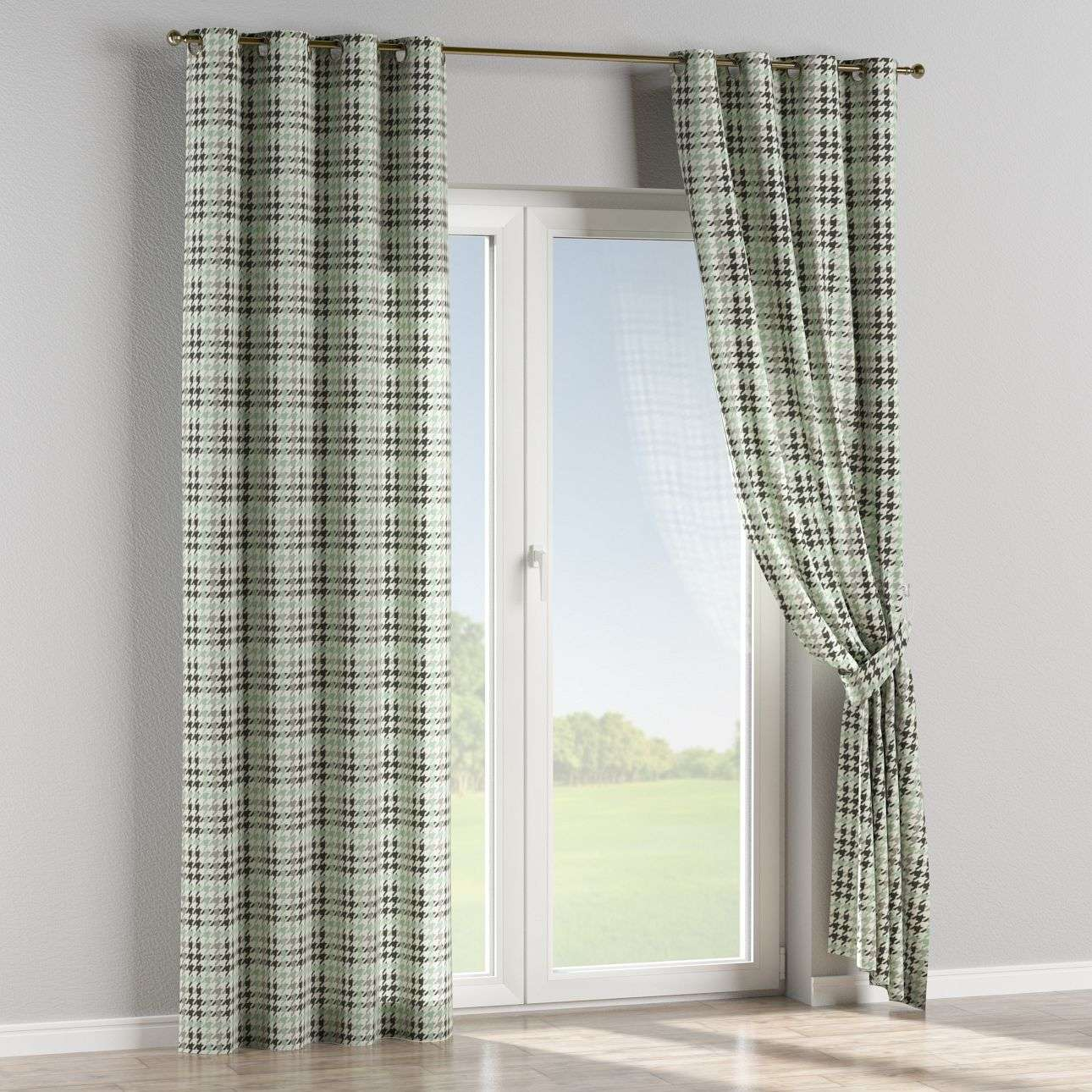 Eyelet curtains 130 x 260 cm (51 x 102 inch) in collection Brooklyn, fabric: 137-77