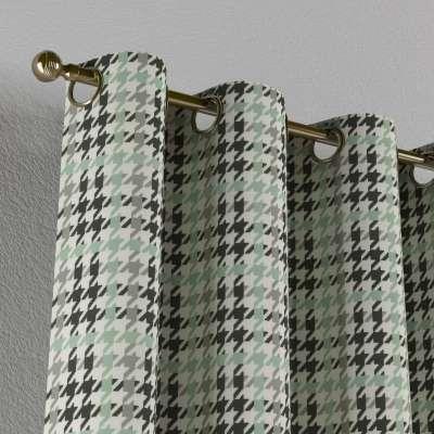 Gardin med maljer 1 stk. fra kolleksjonen RESTSALG, Stoffets bredde: 137-77