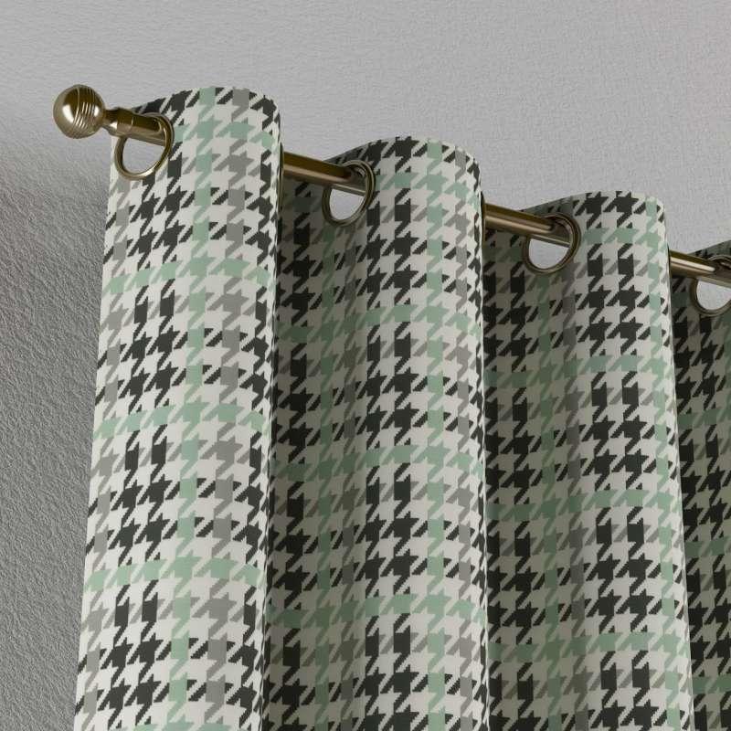 Gardin med øskner 1 stk. fra kollektionen Restsalg, Stof: 137-77