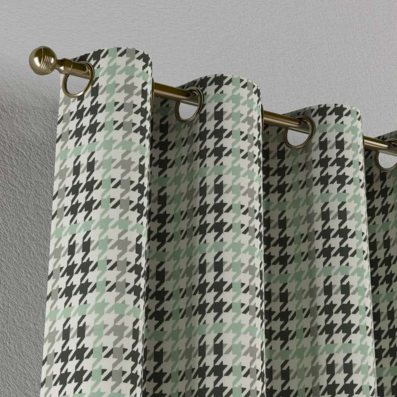 Zasłona na kółkach 1 szt. w kolekcji Brooklyn, tkanina: 137-77