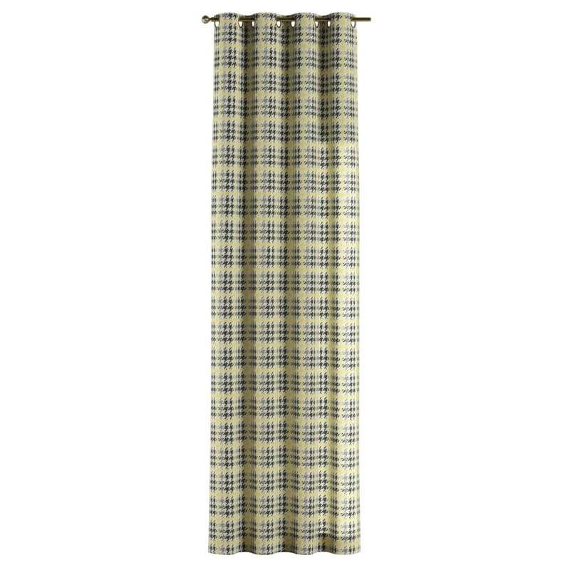 Gardin med öljetter 1 längd i kollektionen OUTLET, Tyg: 137-79