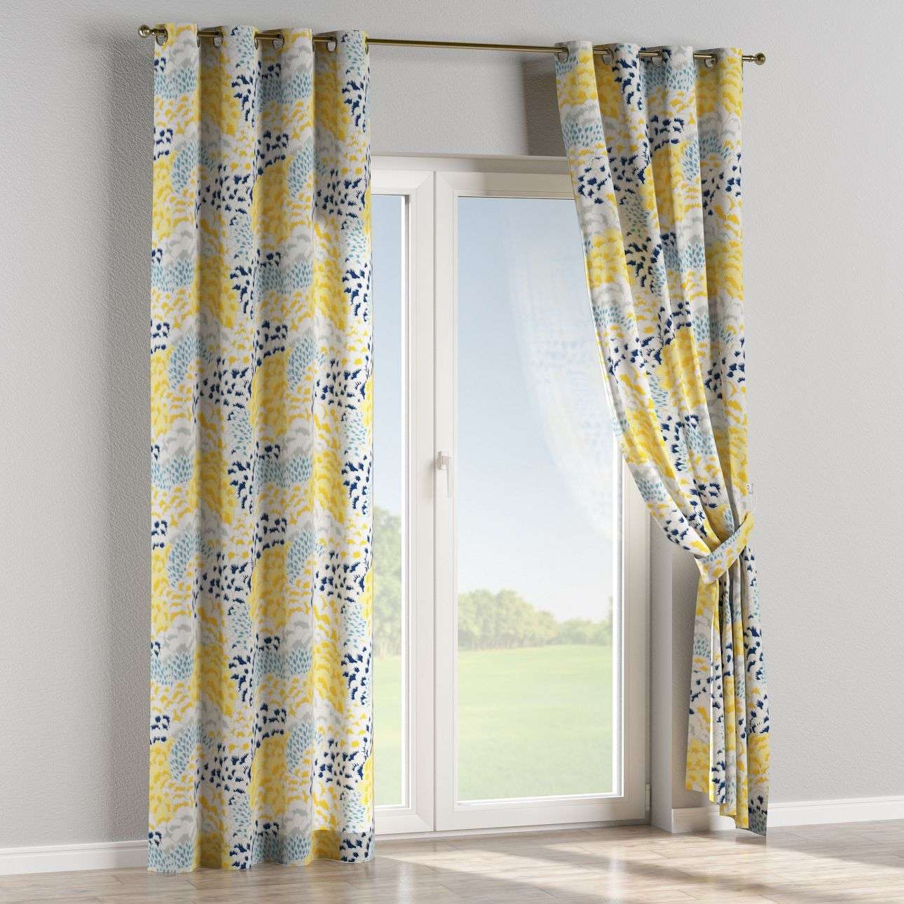 Eyelet curtains in collection Brooklyn, fabric: 137-86