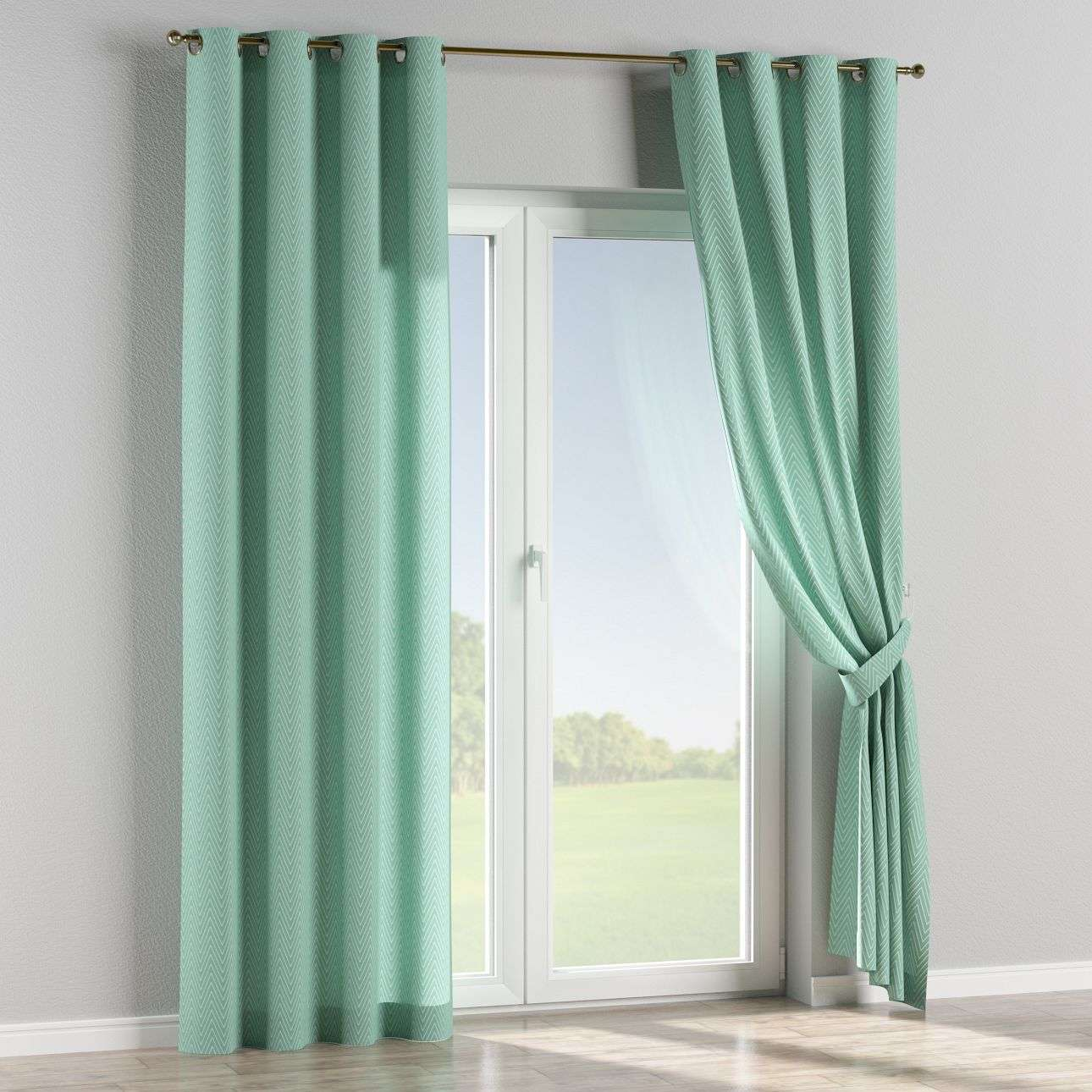 Eyelet curtains 130 x 260 cm (51 x 102 inch) in collection Brooklyn, fabric: 137-90