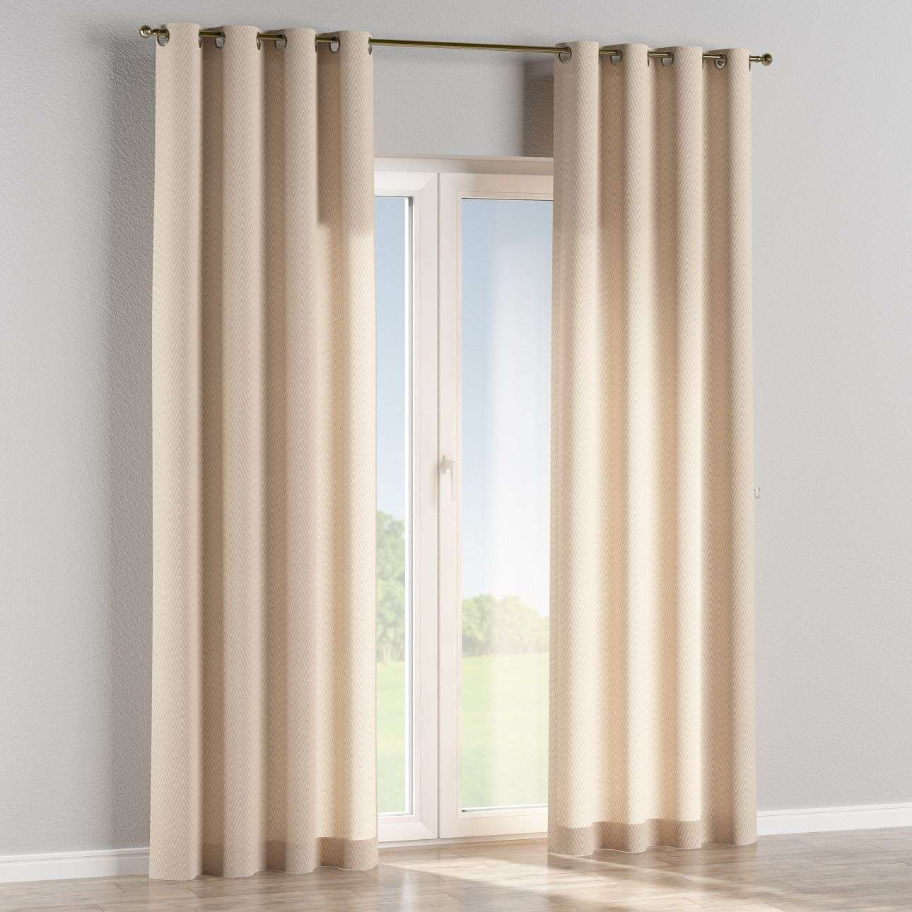 Eyelet curtains in collection Brooklyn, fabric: 137-91