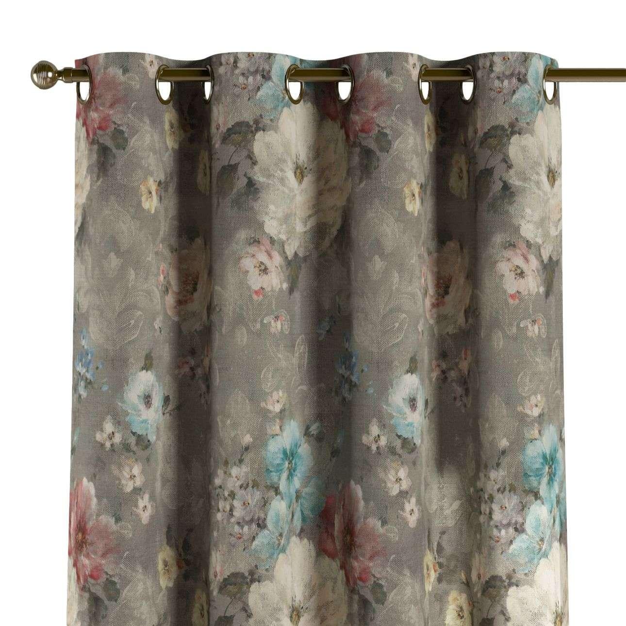 Gardin med maljer 1 stk. 130 x 260 cm fra kolleksjonen Monet , Stoffets bredde: 137-81