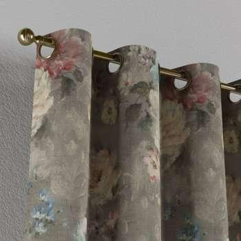 Závěs na kroužcích v kolekci Monet, látka: 137-81