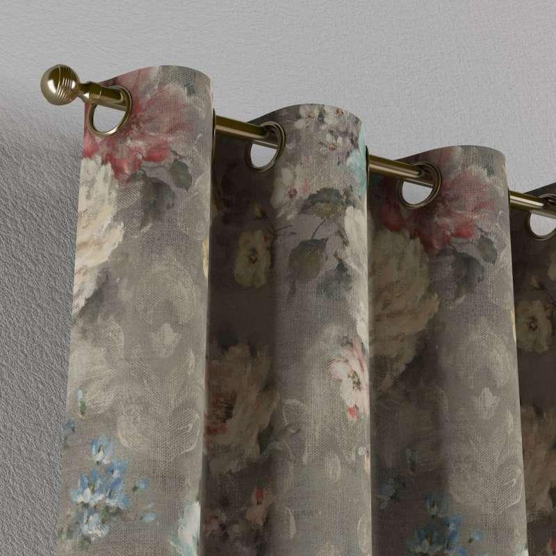 Gardin med maljer 1 stk. fra kolleksjonen Flowers, Stoffets bredde: 137-81