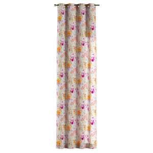 Eyelet curtains 130 x 260 cm (51 x 102 inch) in collection Monet, fabric: 140-04