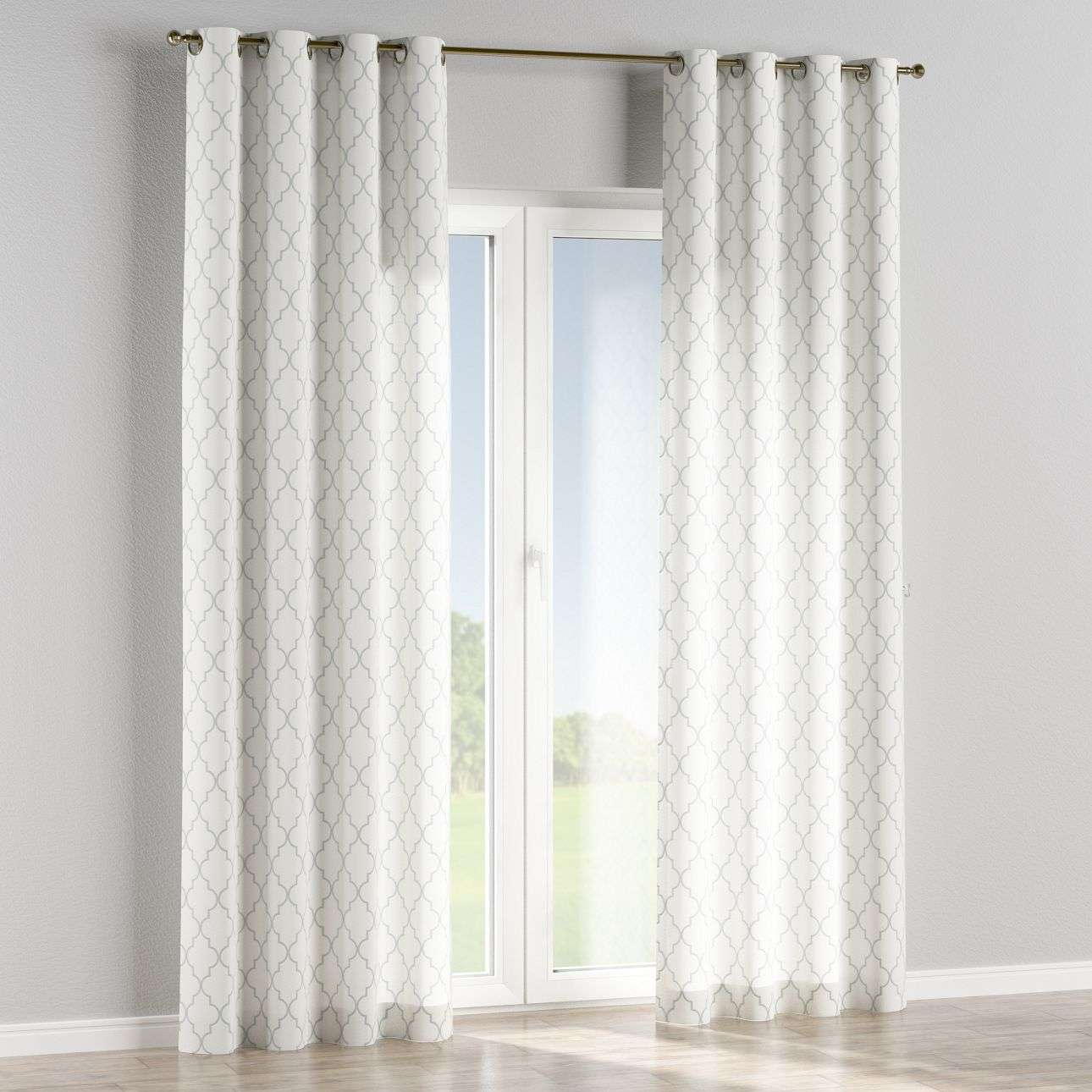 Eyelet curtains 130 x 260 cm (51 x 102 inch) in collection Comic Book & Geo Prints, fabric: 137-85