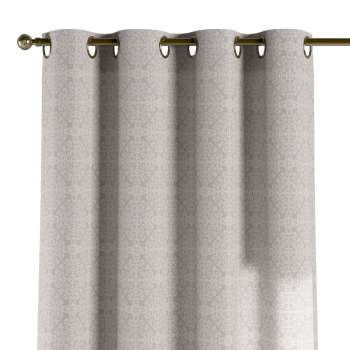 Eyelet curtains 130 x 260 cm (51 x 102 inch) in collection Flowers, fabric: 140-38