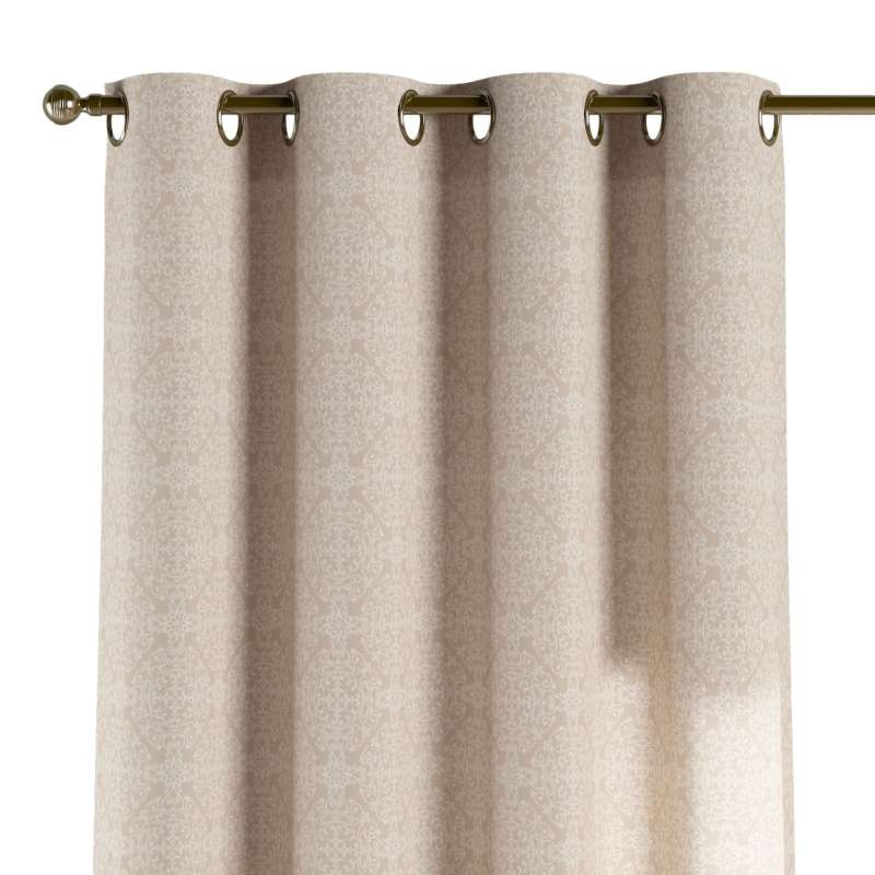 Záves s kolieskami V kolekcii Flowers, tkanina: 140-39