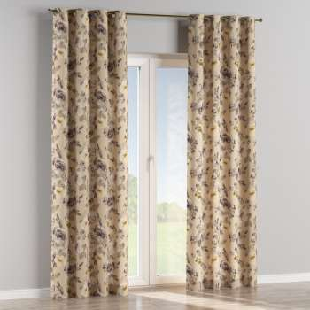Eyelet curtains 130 x 260 cm (51 x 102 inch) in collection Londres, fabric: 140-44