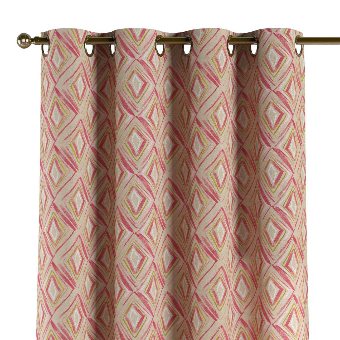 Eyelet curtains 130 x 260 cm (51 x 102 inch) in collection Londres, fabric: 140-45