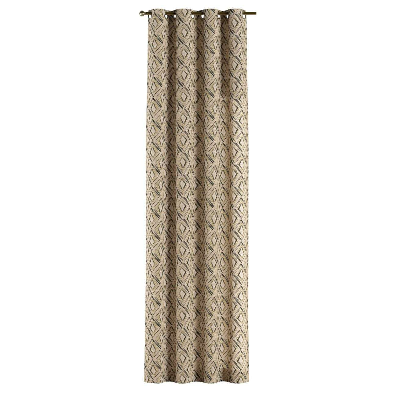 Eyelet curtains 130 x 260 cm (51 x 102 inch) in collection Londres, fabric: 140-46
