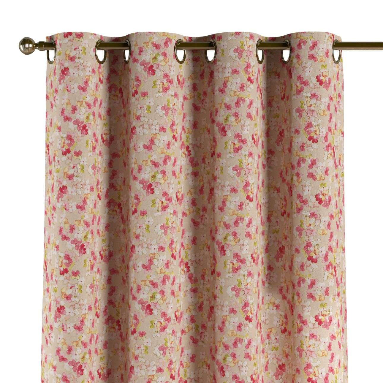 Eyelet curtains 130 x 260 cm (51 x 102 inch) in collection Londres, fabric: 140-47