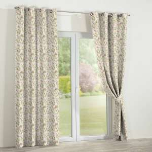 Eyelet curtains 130 x 260 cm (51 x 102 inch) in collection Mirella, fabric: 140-41