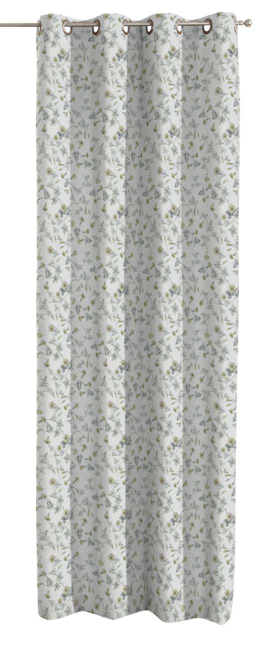 Eyelet curtains 130 x 260 cm (51 x 102 inch) in collection Mirella, fabric: 140-42