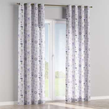 Eyelet curtains in collection Ashley, fabric: 140-18