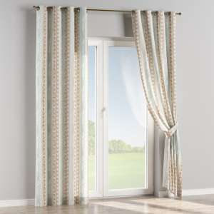 Eyelet curtains 130 x 260 cm (51 x 102 inch) in collection Ashley, fabric: 140-20