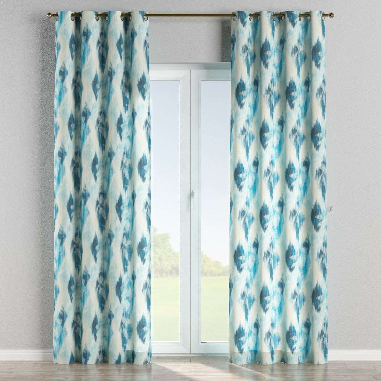Eyelet curtains 130 x 260 cm (51 x 102 inch) in collection Aquarelle, fabric: 140-71