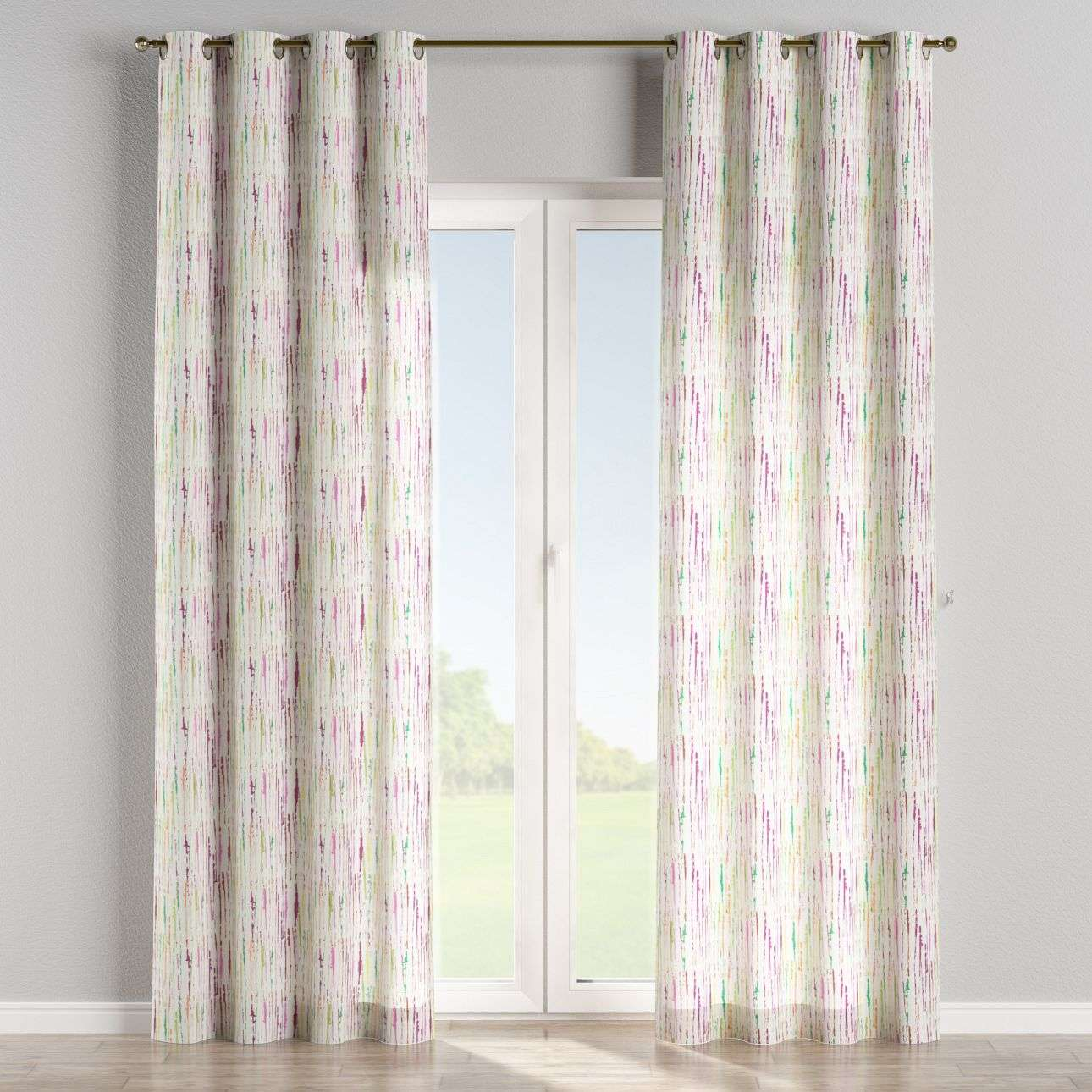 Eyelet curtains 130 x 260 cm (51 x 102 inch) in collection Aquarelle, fabric: 140-72