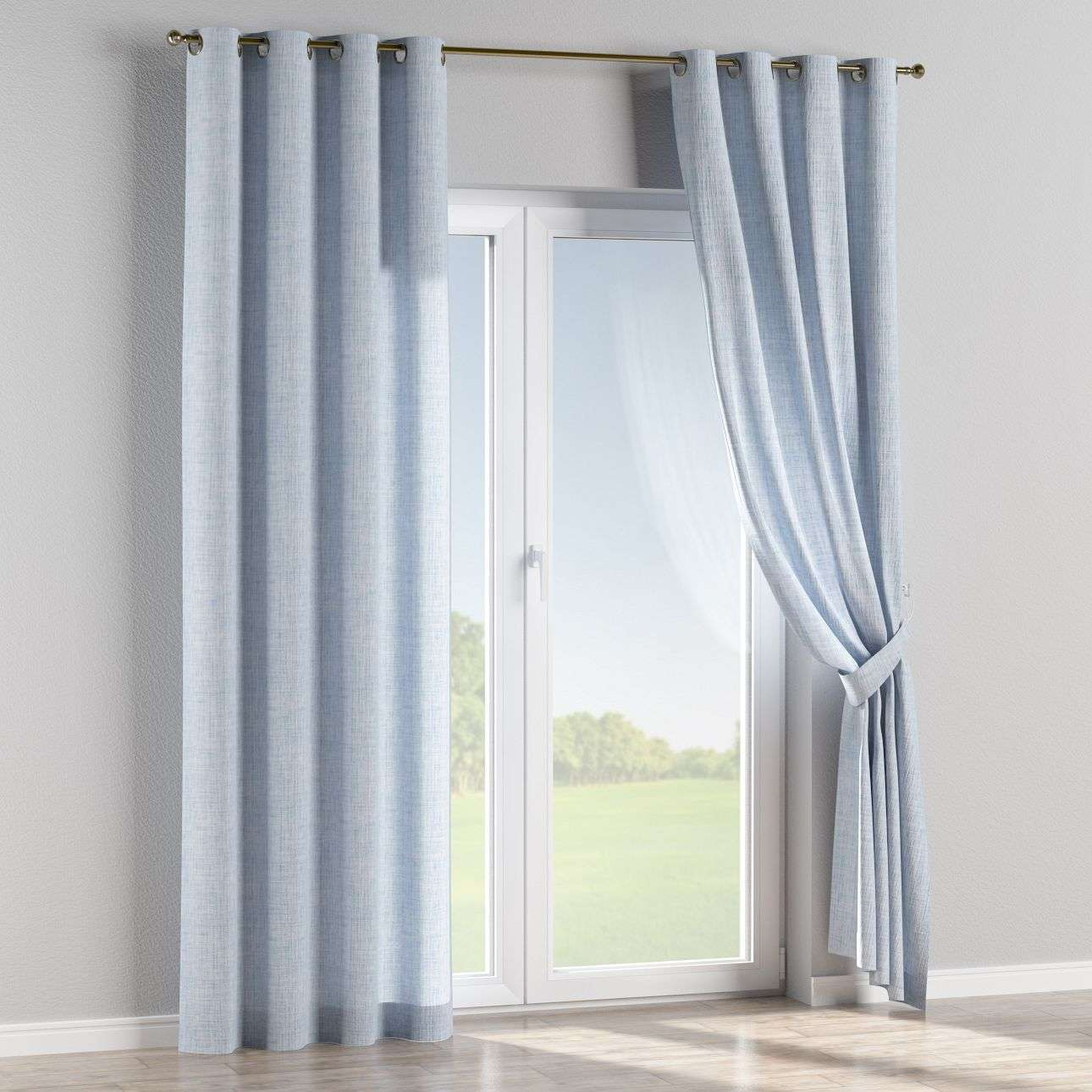 Eyelet curtains 130 x 260 cm (51 x 102 inch) in collection Aquarelle, fabric: 140-74