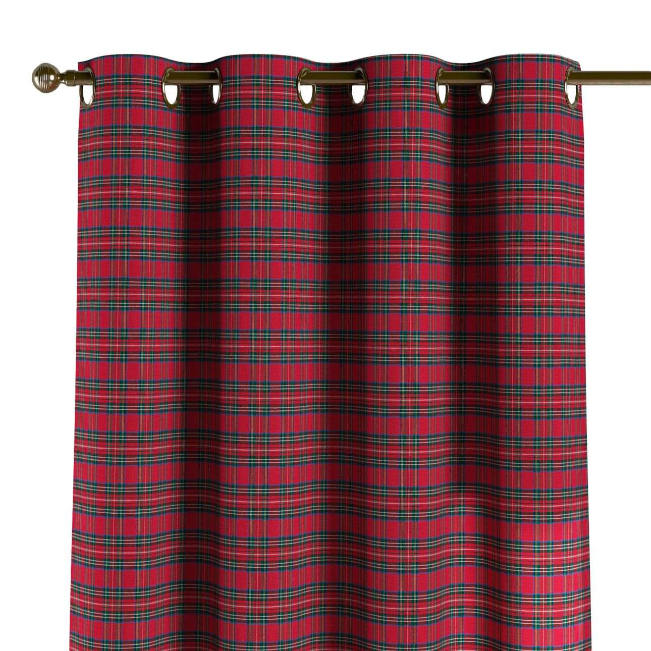Eyelet curtains 130 x 260 cm (51 x 102 inch) in collection Bristol, fabric: 126-29