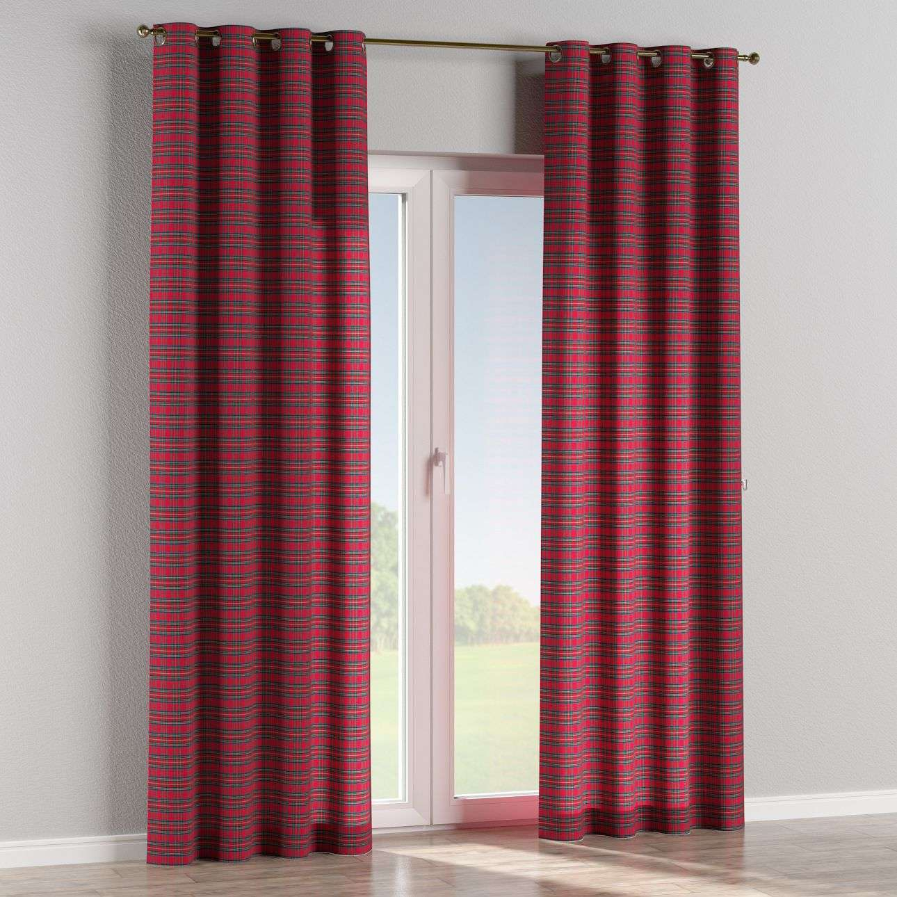 Eyelet curtains in collection Bristol, fabric: 126-29