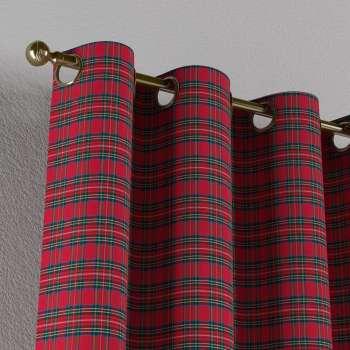 Gardin med øskner 130 x 260 cm fra kollektionen Bristol, Stof: 126-29