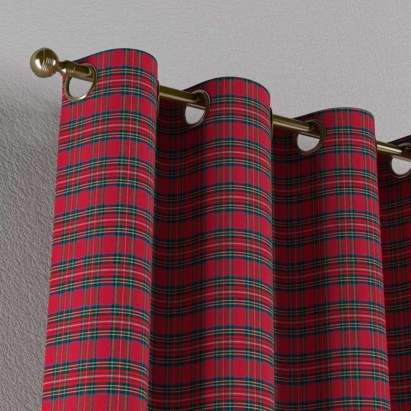 Gardin med øskner 1 stk. fra kollektionen Bristol, Stof: 126-29