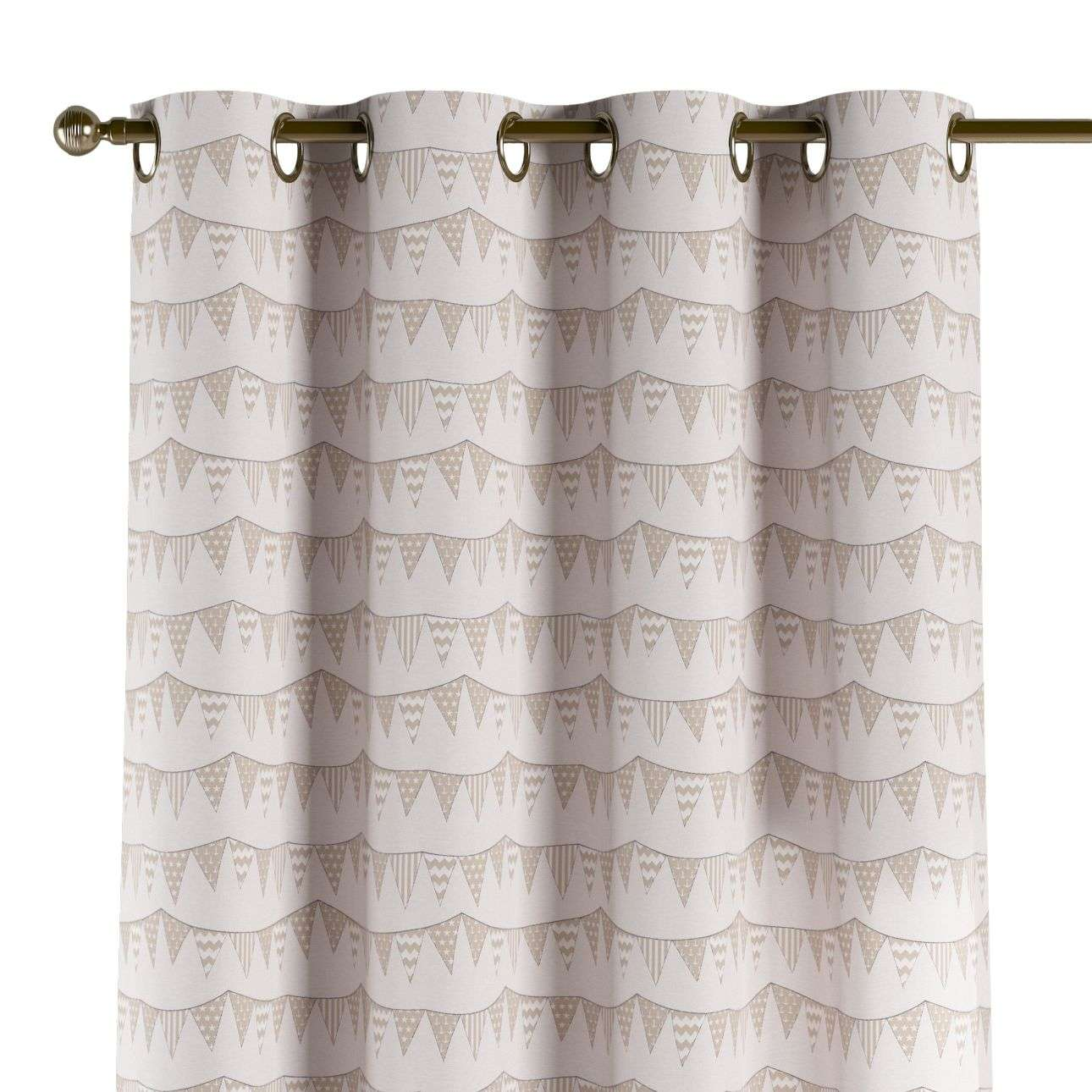 Eyelet curtains 130 x 260 cm (51 x 102 inch) in collection Marina, fabric: 140-65