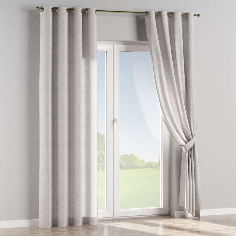 Eyelet curtain in collection Venice, fabric: 140-49