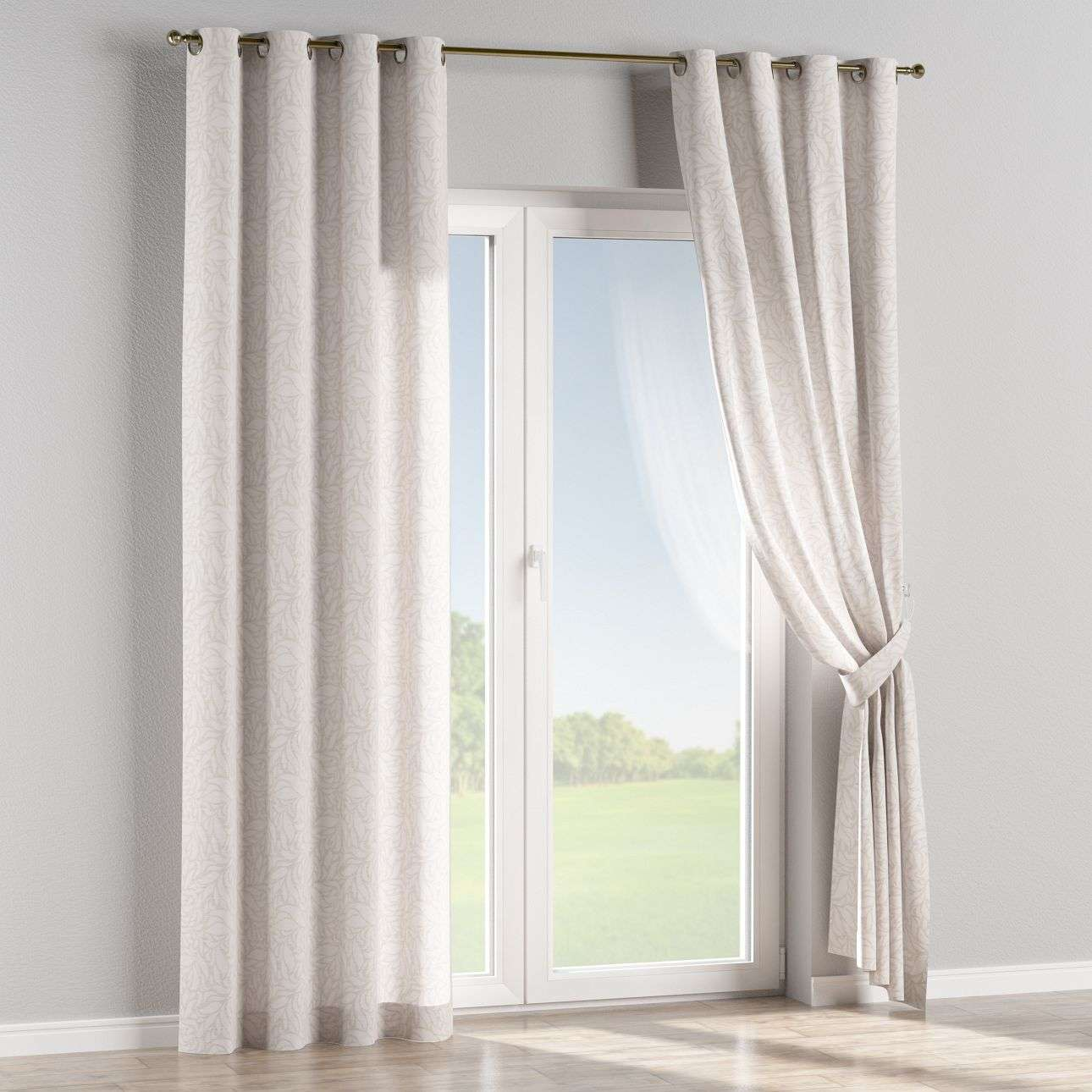 Eyelet curtains 130 x 260 cm (51 x 102 inch) in collection Venice, fabric: 140-50