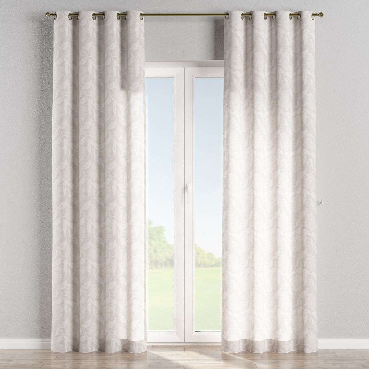 Eyelet curtains 130 x 260 cm (51 x 102 inch) in collection Venice, fabric: 140-51