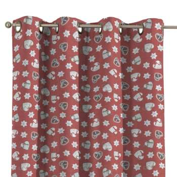 Eyelet curtains in collection Christmas, fabric: 629-29