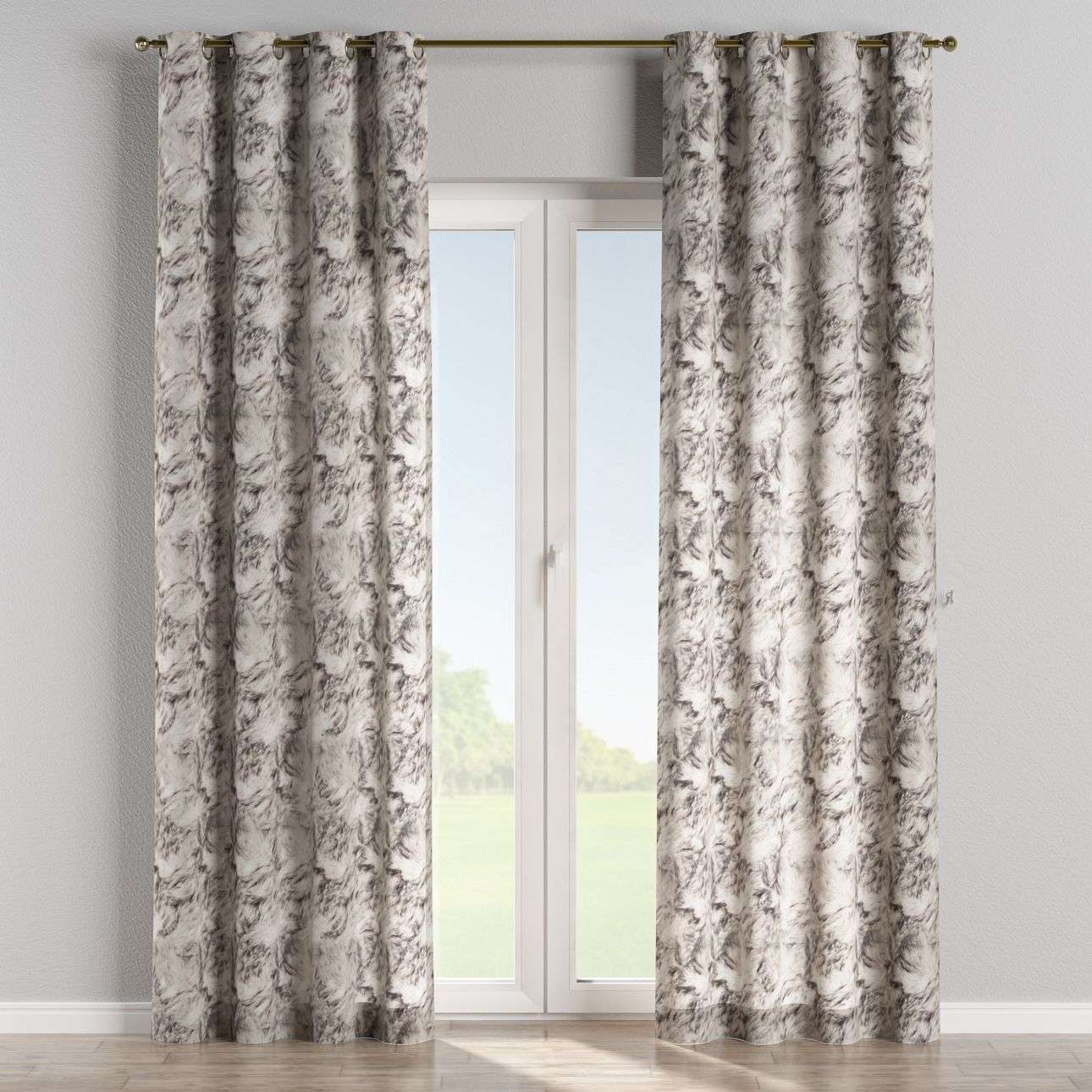 Eyelet curtains 130 x 260 cm (51 x 102 inch) in collection Freestyle, fabric: 140-82