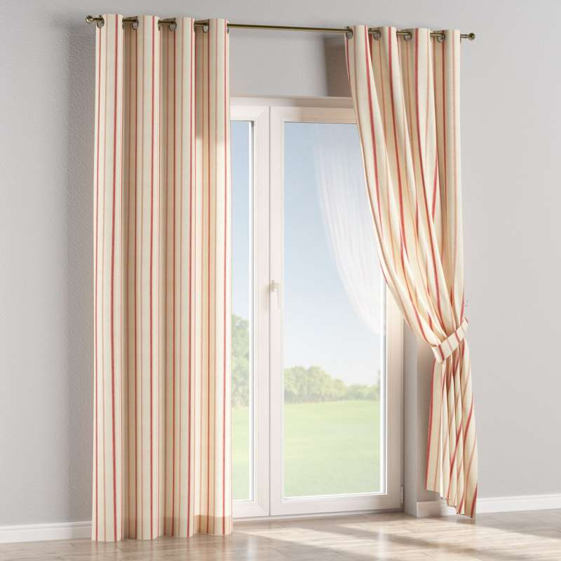 Eyelet curtain in collection Avinon, fabric: 129-15