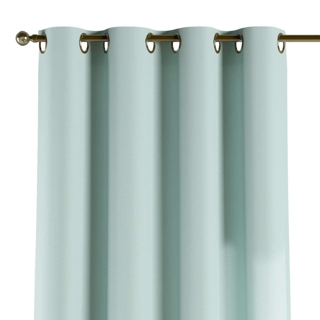 Gardin med maljer 1 stk. 130 x 260 cm fra kolleksjonen Cotton Panama, Stoffets bredde: 702-10